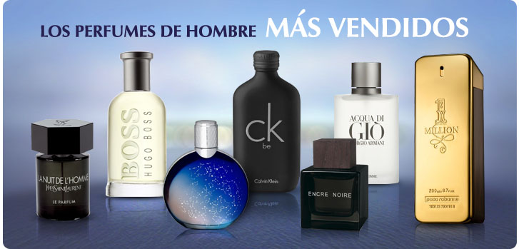 Top Selling Men's Perfumes - Spanish